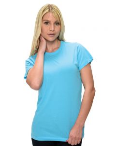 Ladies Fine Jersey Short Sleeve Tee