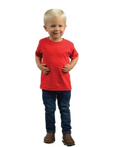 infant polyester blend crew tee
