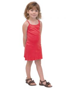 Youth Spaghetti Strap Dress-Apple Green-Youth S