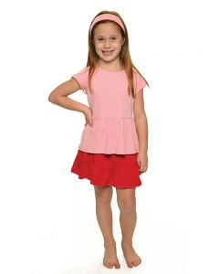 Interlock Short Sleeve Baby Doll Tee