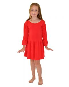 Toddler Girls Red Dress