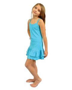 Girls Tank Ruffle Dress