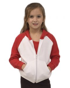 Infant Fleece Raglan Zip Hoodie