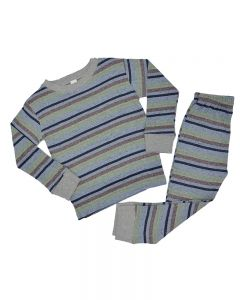 Heather Multicolor Toddler Pajama Set