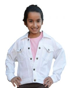 Youth White Jacket