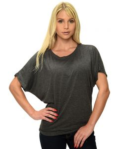 Ladies Short Sleeve Dolman Tee