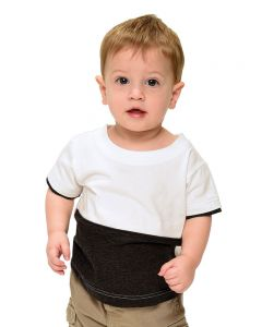 Infant Heather 2 Color Tee
