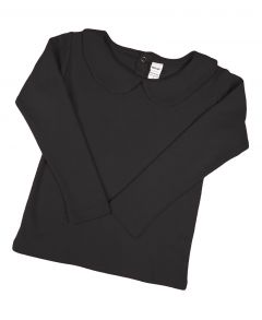 Infant Interlock Long Sleeve Peter Pan Collar Tee