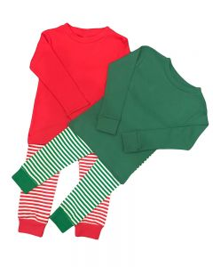 Toddler Long Sleeve Tee & Stripe Trouser Set