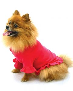 Dog Ruffle Tee Ruffle Tshirt for Dogs