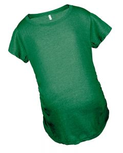 Maternity Tshirt | Short Sleeve Maternity Tee | Green Maternity t-shirt | Cheap Maternity Tshirts