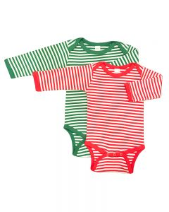 Christmas Baby Onesie Striped Baby Onesie Red Stripe baby onesie Striped Baby Bodysuit
