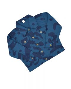 Toddler Camo Jacket-Navy-2y