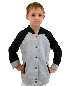Toddler Varsity Fleece Hooded Jacket