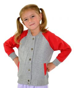 Toddler Fleece Varsity Jacket, Toddler Fleece Jacket